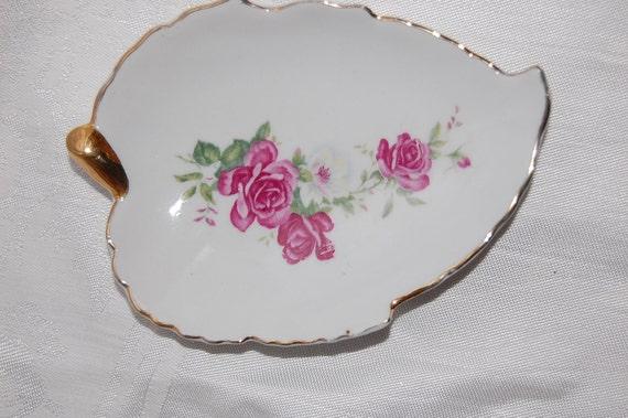 Vintage Pink Roses Pin Dish at The Rose Rooms