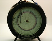 RESERVED FOR ment4me - Antique Bristol Thermo-Humidigraph- Perfect Steampunk / Machine Age Decor