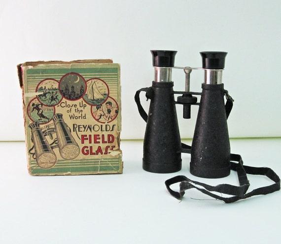 Reynolds Field Glasses 1930s Spectator Binoculars