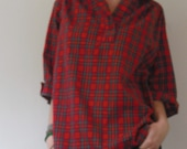 Perfect Soft Cotton Plaid Shirt