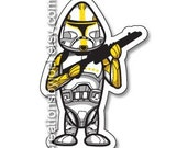 Yellow Clone Trooper Magnet