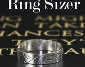 Check your ring size, just print the Ring Sizer at home, a PDF for you