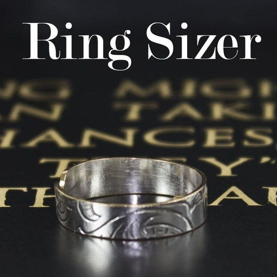 Handy Ring Sizer, check your ring size, a PDF for you
