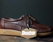 Vintage Gum Sole Shoes - Dexter Mens Shoes / Size 9 1/2
