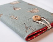 Kindle Fire / Keyboard / 3G / Touch  and Nook sleeve cover - Vintage French Country