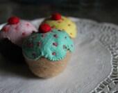 Buttercream Catnip Cupcakes