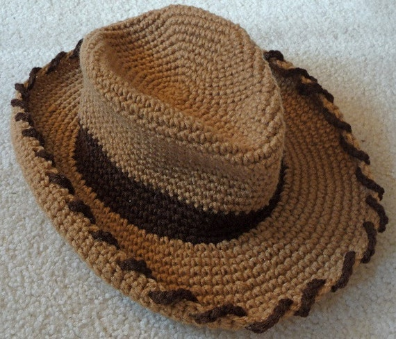 Items similar to Cowboy Hat in youth and adult sizes on Etsy