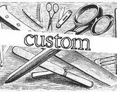 custom order for somer - 6 wrist cuffs