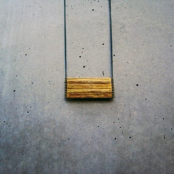matchbox necklace