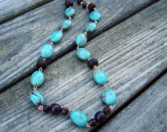 Turquoise River Necklace