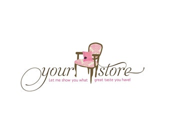 Photography Logo- Pre-made- Chair/Fabric Logo