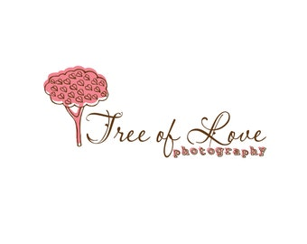 Photography Logo & Watermark - Pre-made for Photographer - Tree of Love