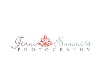 Photography Logo & Watermark - Pre-made for Photographer - Jenni