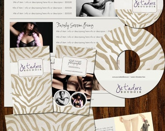 Boutique Marketing Package - Zebra- Photography