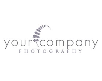 Photography Logo & Watermark - Pre-made for Photographer - Fern