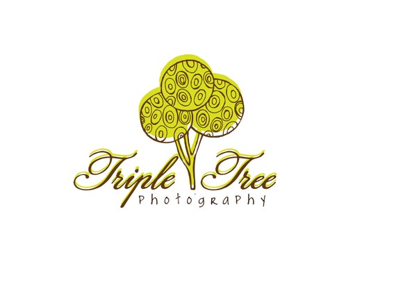 Photography Logo & Watermark - Pre-made for Photographer - Triple Tree