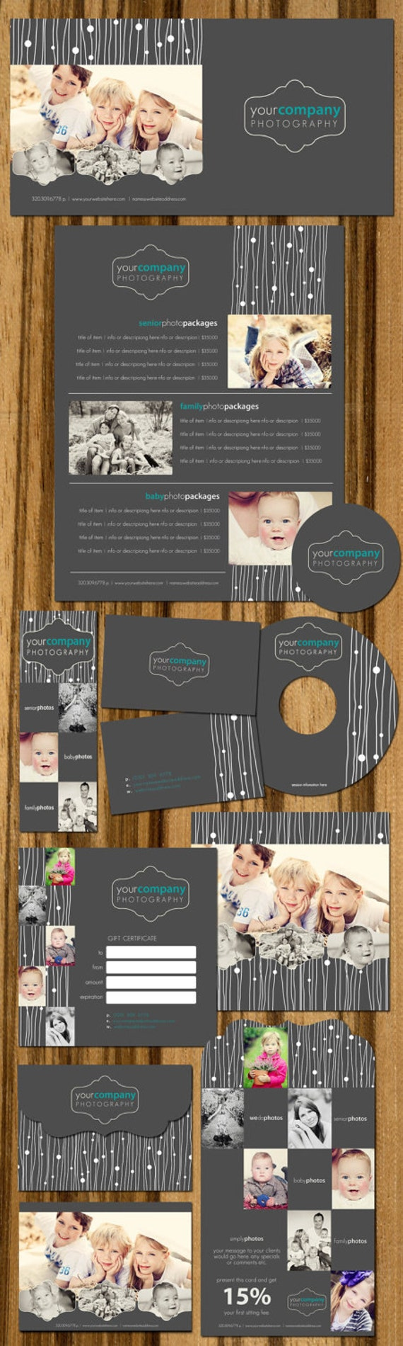 Boutique Marketing Package - Lines of Style- Photography