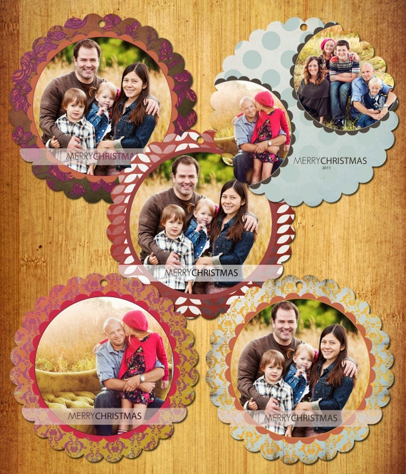 Paper Ornament Set - Photoshop PSD Templates - Set of 22 Files