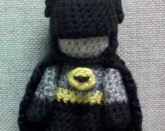 PATTERN: Amigurumi Batman