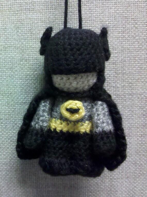 Amigurumi Batman Deutsch : PATTERN: Amigurumi Batman