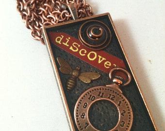 Discover Copper Steampunk Necklace