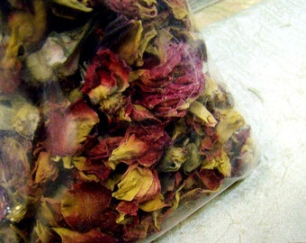 Fragrant Rose Petals - Dried Packaged for Pot Pourri or Sachet