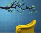 Vinyl Wall Sticker Decal Art - Tree Branch