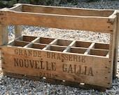 French Bottle Crate Paris