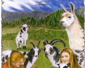 JACOB SHEEP and MORE, not just a coloring book 1st Edition