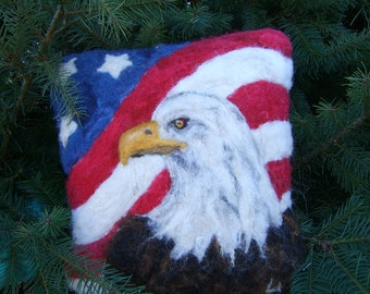American Bald Eagle Needle Felt Kit