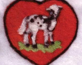 Complete Needle Felting Lamb Kit