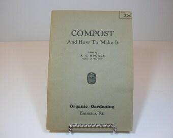 IISALEII Vintage Composting Booklet 1945