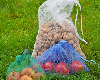 Reusable Produce Bags - Family Size Starter Set
