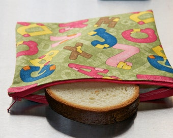 Reusable Eco-Friendly Lunch Bags - Sandwich Size