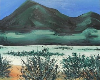 Green Hills - Original Oil Painting