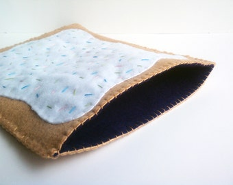 Blueberry Poptart iPad cover, cozy or case