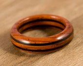 Cocobolo Ebony Wood Ring