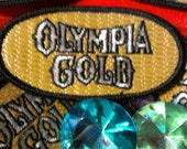 Vintage Olympia Gold Beer Embroidered Patch