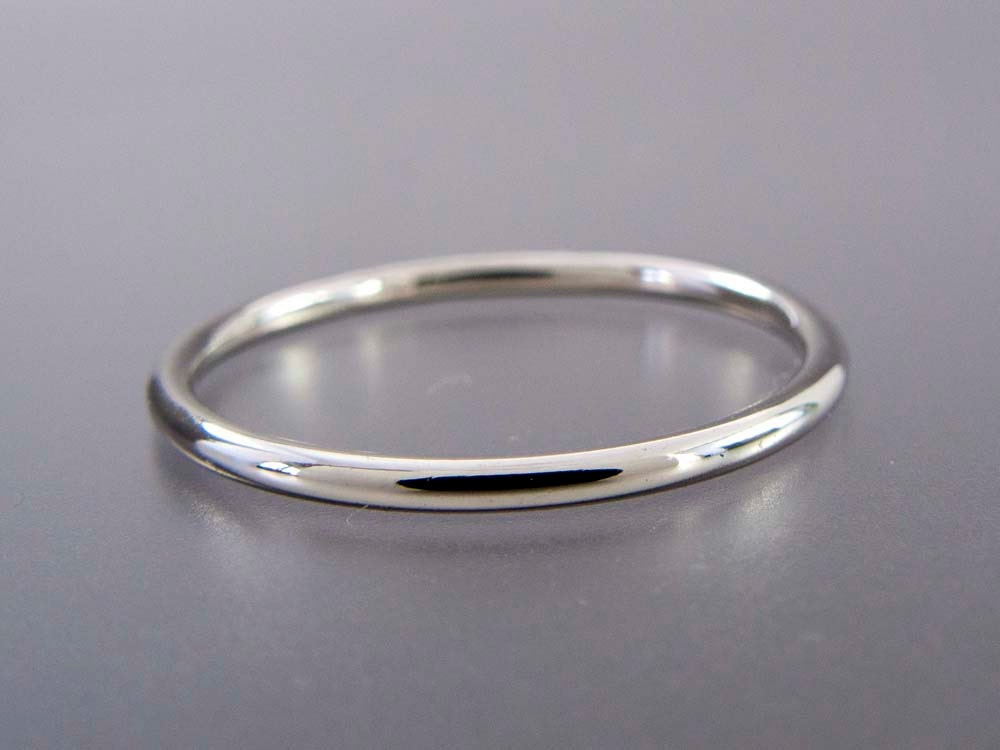 thin platinum wedding band 1 3mm wide stacking ring choice