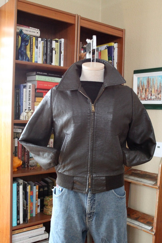 """vintage official """"The Fonz"""" jacket by Paramount // Happy Days // size s m"""