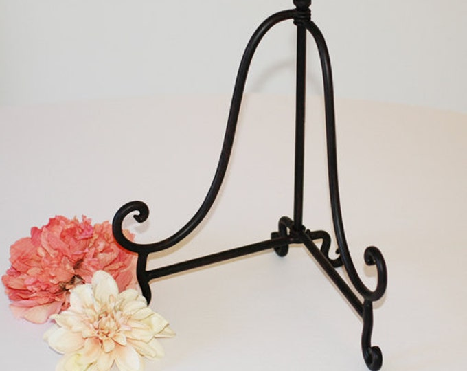 Extra Large Wrought Iron Easel used for Chalkboards and Guest Books