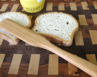 Sandwich Spreader or Frosting Wand Cherry Wood