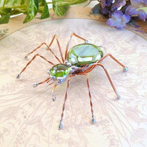 Green Spider Short Legged Medium