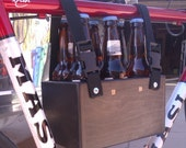 Six Pack Beer Bicycle Tote