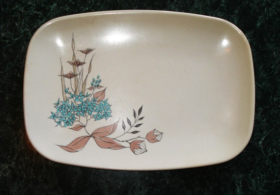 60s BrookPark Tropicana Melmac Platter