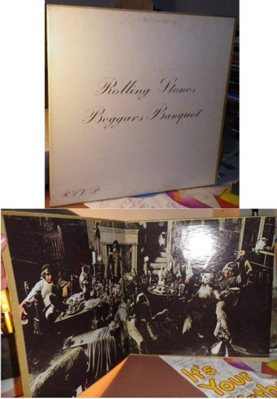 Rolling Stones Beggars Banquet Vinyl LP Gatefold 1968 London PS539 Early US Pressing Clean