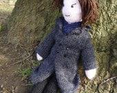 Sherlock Holmes Benedict Cumberbatch doll knitting pattern