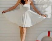 Summer 2013 - Strapless Babydoll Dress with Circle Skirt - International Shipment available - Choice of Colors too
