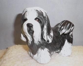 Shih Tzu  D79 hand painted ceramic Dog