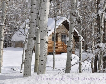 Country Winter Fine Art Photo